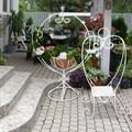 Подставка для цветов садовая - фото 21974