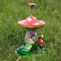 Поливалка гриб с лягушкой