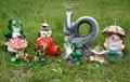Поливалка гриб с лягушками - фото 22233