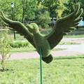 Топиарий утка