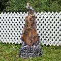 Фонтан декоративный орел на скале