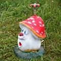 Поливалка для дачи гриб