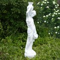 Скульптура для сада девушка с кувшином