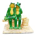 Садовая фигура Две лягушки