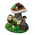 Поливалка для дачи гриб с ежами