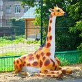 Диван из полистоуна Жираф