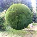 Садовая фигура земной шар для дачи и загородного дома