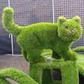 Садово - парковая фигура котик для дачи и загородного дома