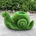 Садовая фигура улитка под цветы фото с размерами