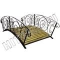 Кованый садовый мостик