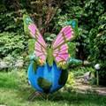 Топиарная фигура Бабочка для детской площадки