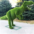 Топиарная фигура Динозавр для парка