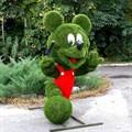 Топиарная фигура Микки маус для детской площадки