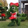 Топиарная фигура Минни Маус для детской площадки