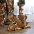 Столик со стеклянной столешницей