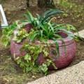 Садовое кашпо из полистоуна
