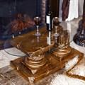 Столик журнальный со стеклом