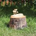 Фигура Пень с грибами