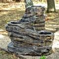 Кашпо под камень