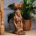 Египтянка подставка под цветок - фото 25491