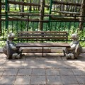 Скамейка для парка Черепахи