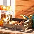 Деревянный ящик для хранения фото