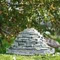Фонтан камень для дачи