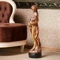 Интерьерная скульптура девушка