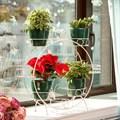 Полка для цветов на окно