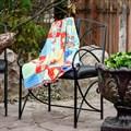 Кованное кресло для дачи