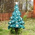 Декоративный чехол елка