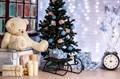 Санки декоративные новогодние