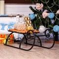 Новогодние санки фото