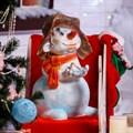Декоративная фигура Снеговик