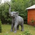 Фигура для сада слон за 27000 руб.