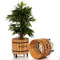Деревянные вазоны для цветов