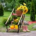 Подставка для цветов лестница