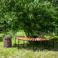 Кованая скамейка 891-56