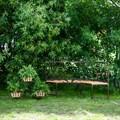 Секционный диван для сада