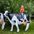 Садовая фигура Корова большая - фото 35349