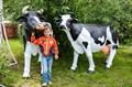 Садовая фигура Корова большая - фото 35351