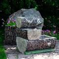 Бревна фонтан садовый