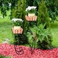 Цветочница кованая - фото 35956