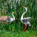 Птицы садовые фигуры