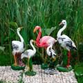 Фигуры садовые птицы