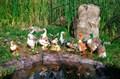 Фигуры для сада утки