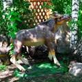Садово-парковая фигурка лосенка
