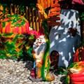 Гном с подсолнухом - фото 36574