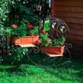 Кованая цветочница - фото 37007