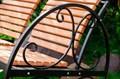 Кресло качалка из металла - фото 37155